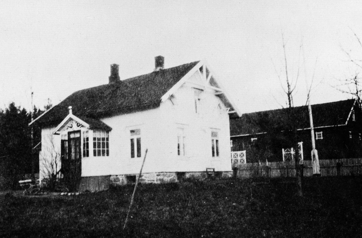 Rasta gård hvor det første kommunekassererkontoret var.