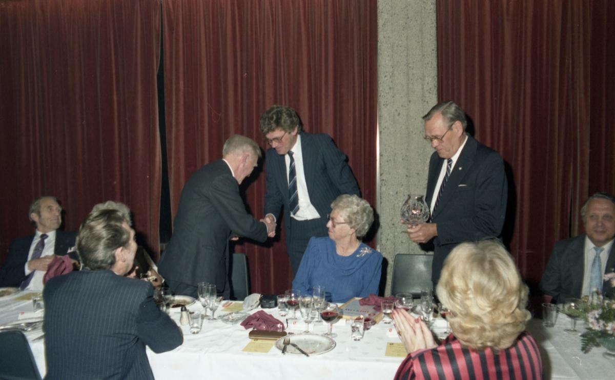 Jubileet 1987 i Tandberghallen 75 år.