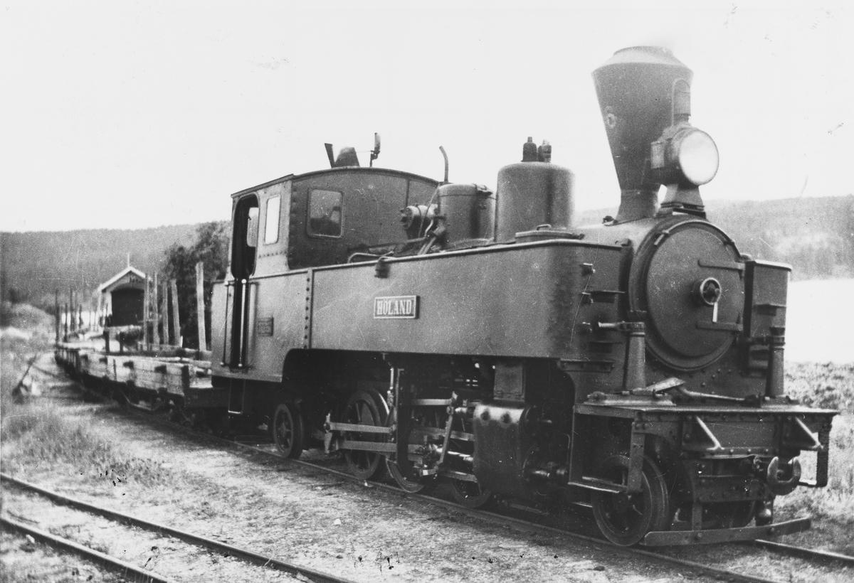 Blandet tog ved Skulerud brygge