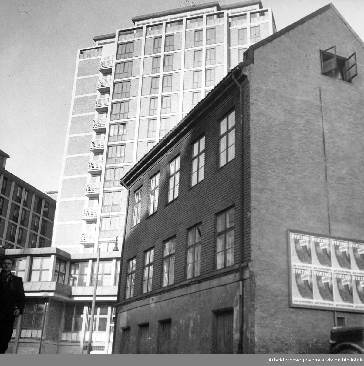Hotell Viking, Gunnerus gate 4, .oktober 1951