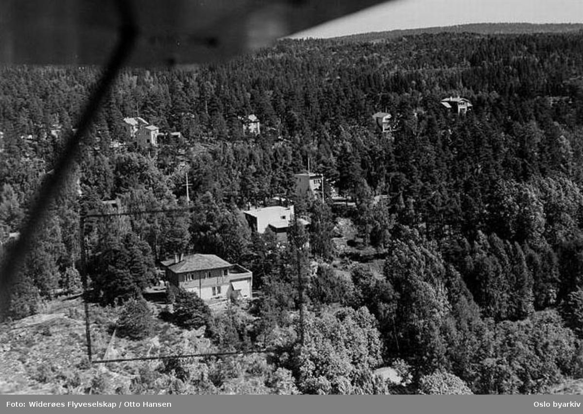 Villabebyggelse (Flyfoto)