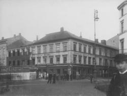 Gatemiljø fra krysset Karl Johans gate - Rosenkrantz' gate (