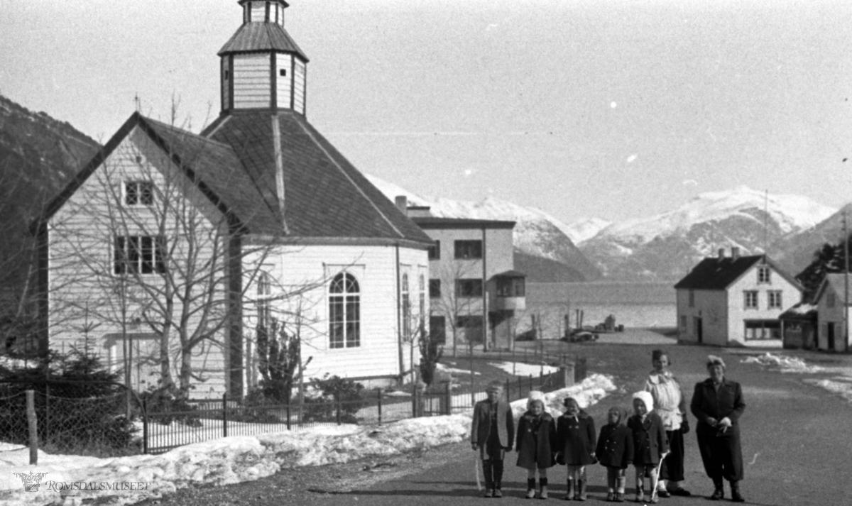 Stranda kirke, Handelslag.(Filmbeholder datostemplet Nov 1939)