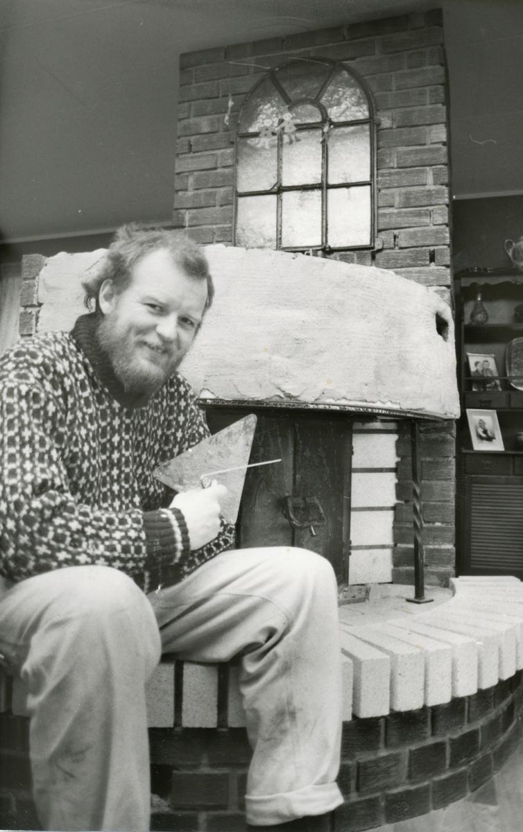 Portrett,1, Finn Damsgård