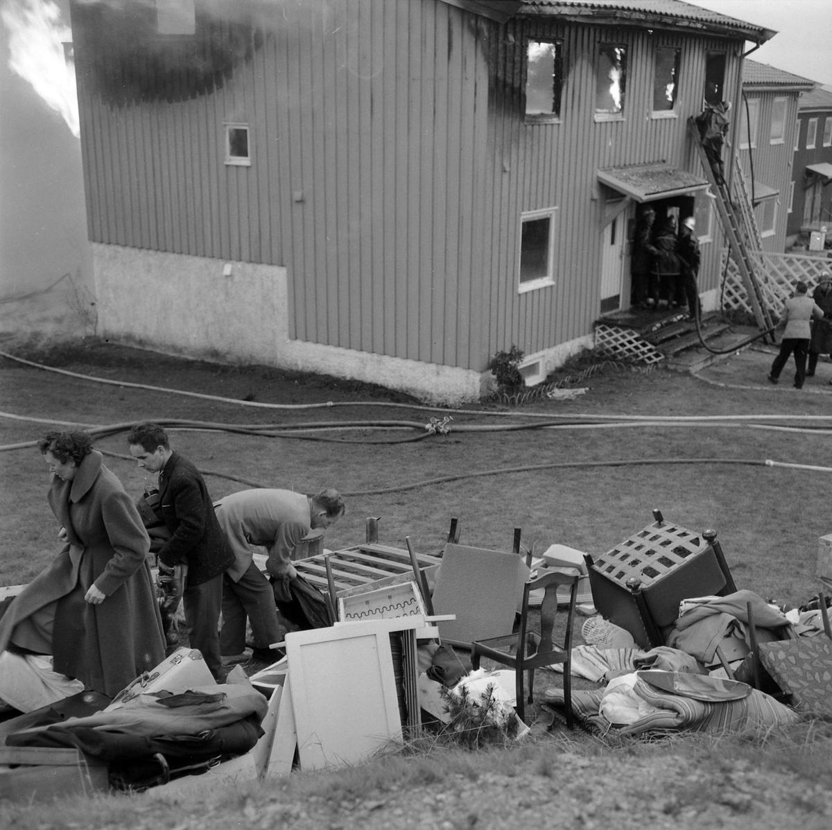 Brann i Rådmann Hammers vei