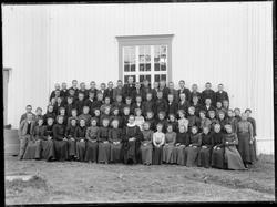 Konfirmanter i Brekken kirke