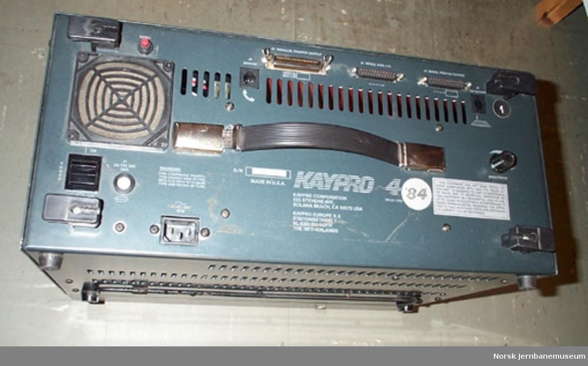 Datamaskin - for styring av signaler