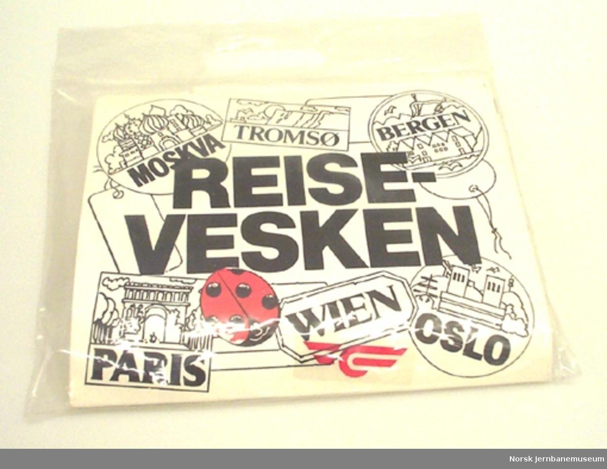 """""""Reisevesken"""" - div. lekesaker for barn på togtur"""