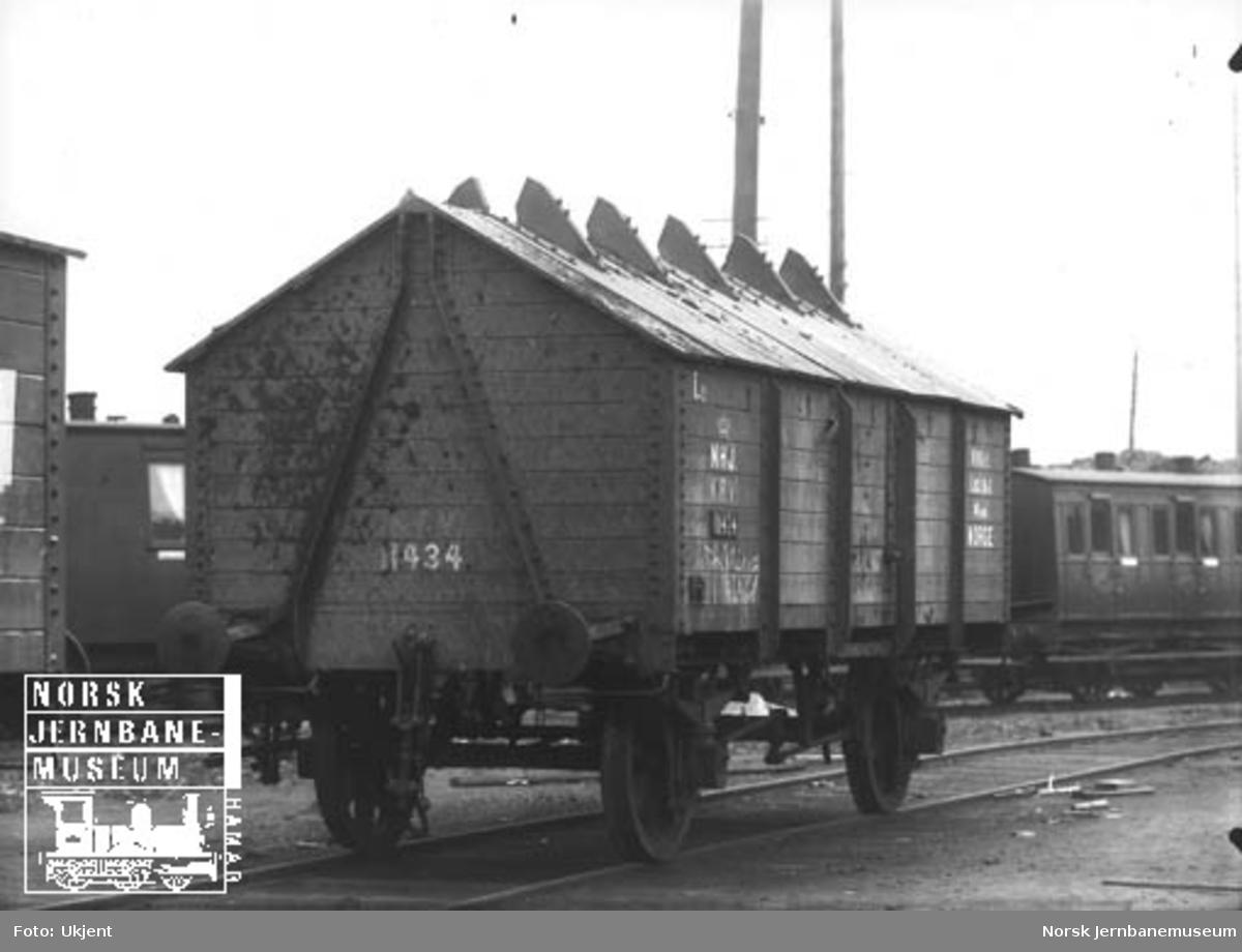 Hovedbanens gjødselvogn litra Lg nr. 11434
