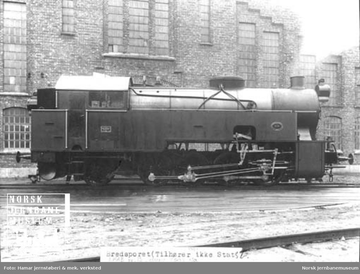 LKABs damplokomotiv nr. 13 ved leveransen