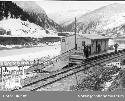 Rognes provisoriske stasjon