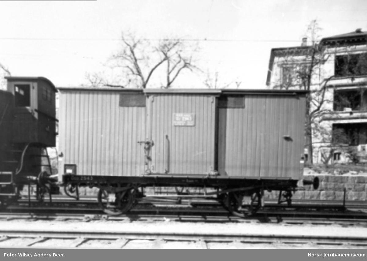 Lukket godsvogn litra G3 nr. 2943