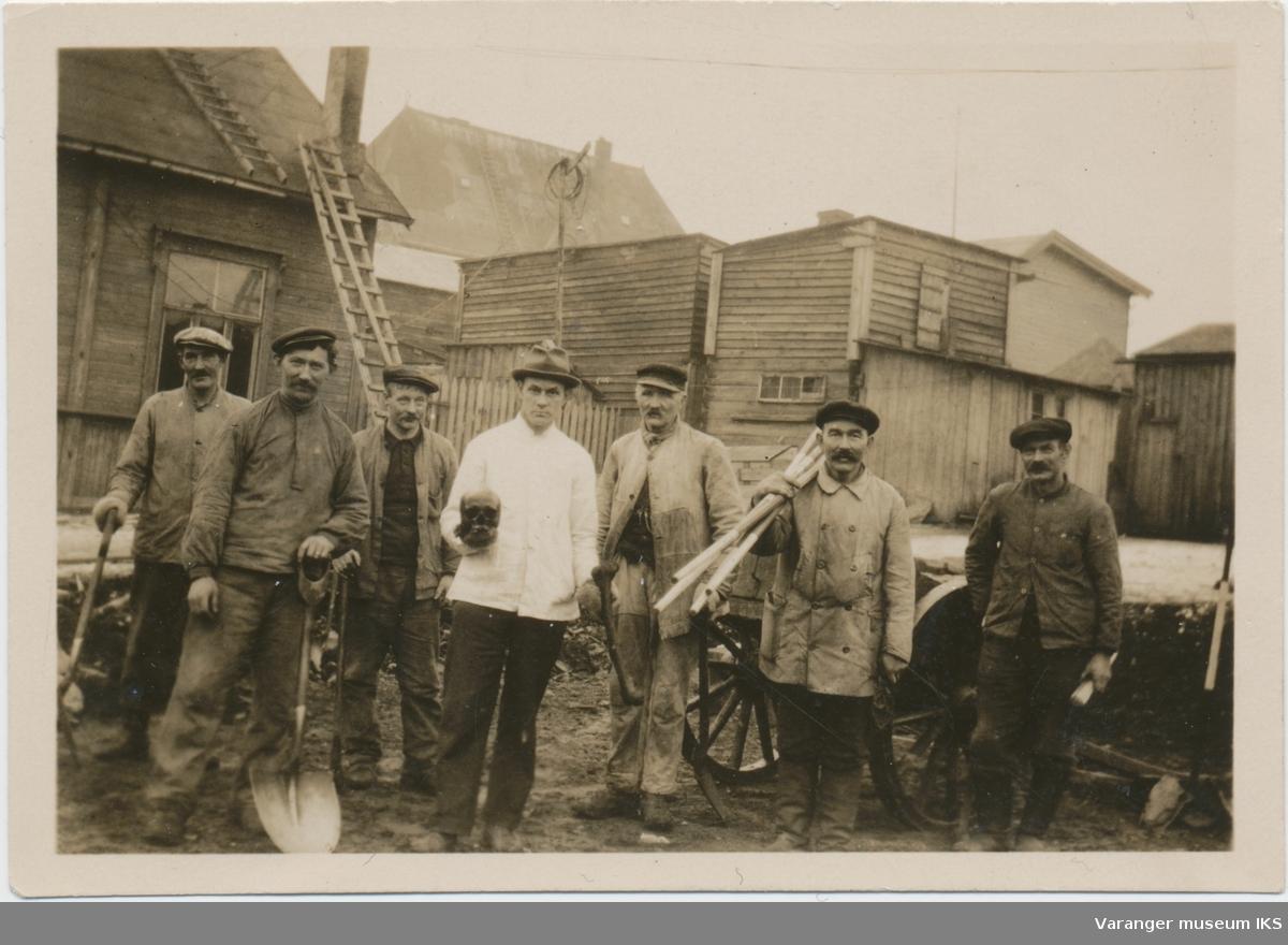 Gravearbeid i Østervågen