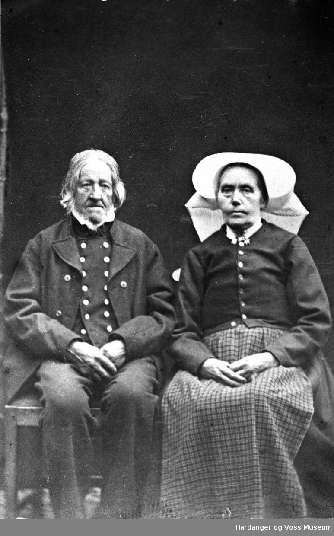 Margreta og Halldor O. Helleland