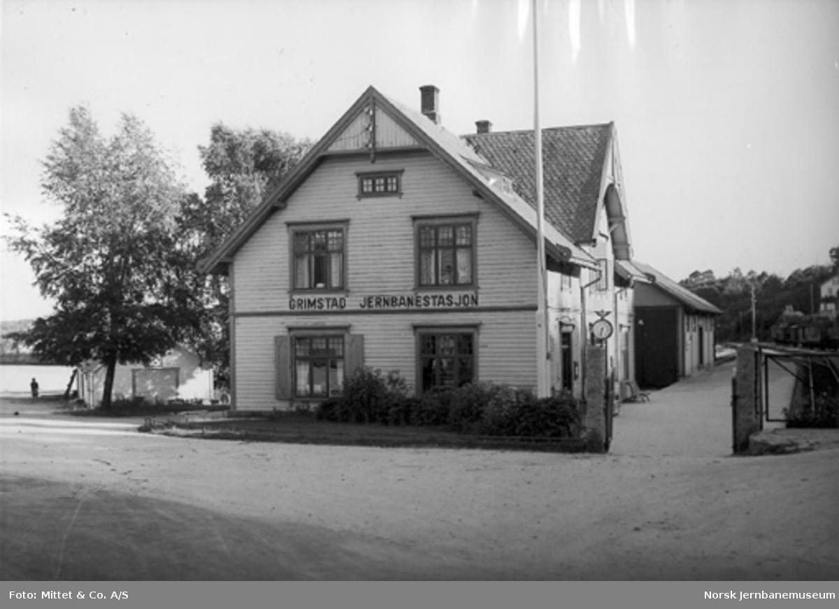 Grimstad stasjon