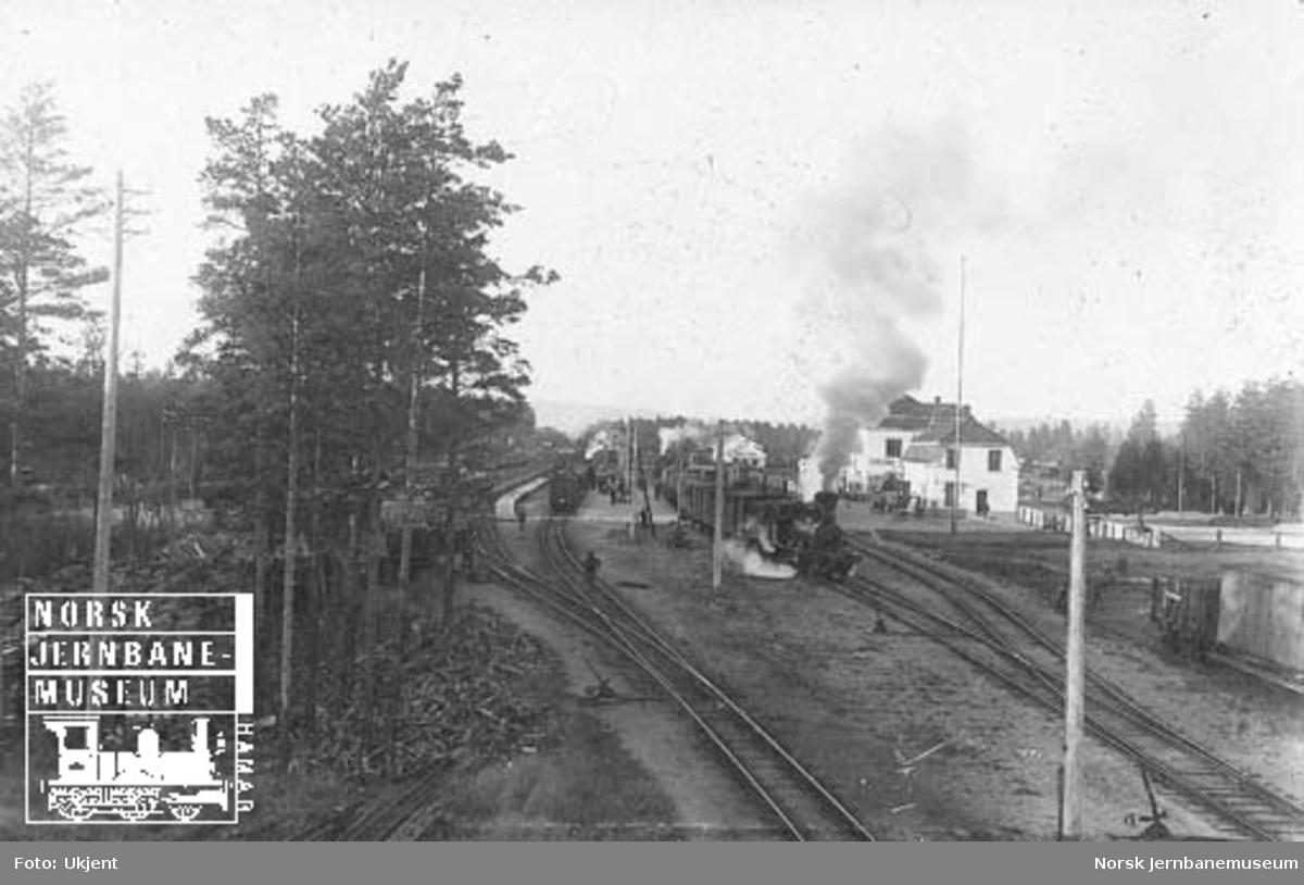 Elverum stasjon, oversiktsbilde