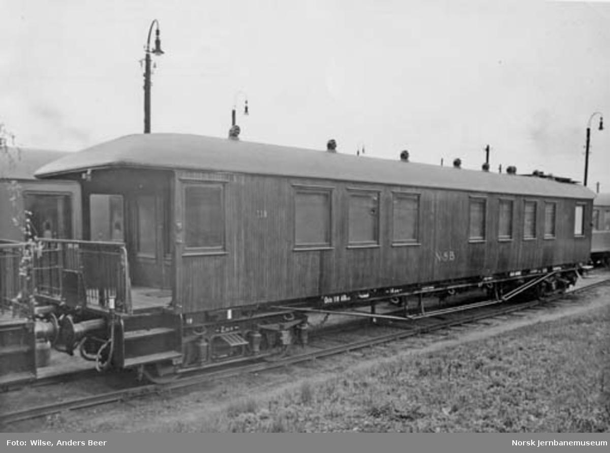 NSB Hovedstyrets salongvogn litra ABo1b nr. 118