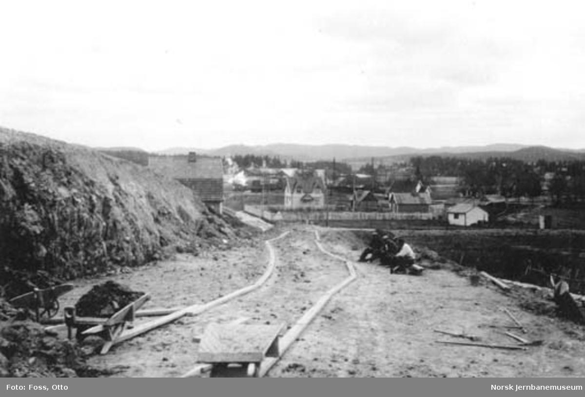 Anleggsarbeider på Grønlia