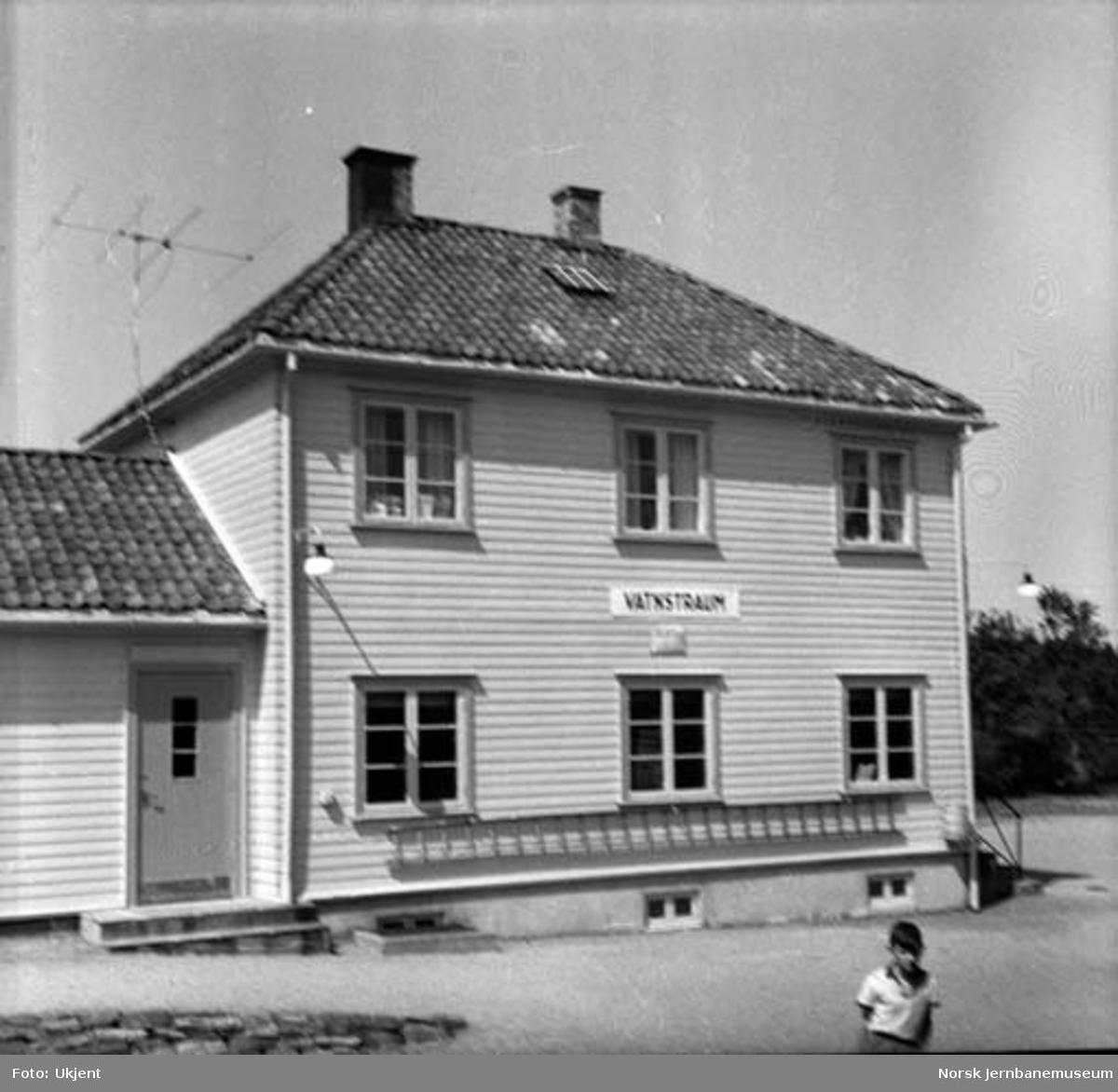 Vatnestrøm stasjon