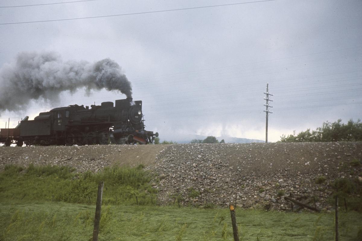 Godstog på Solørbanen