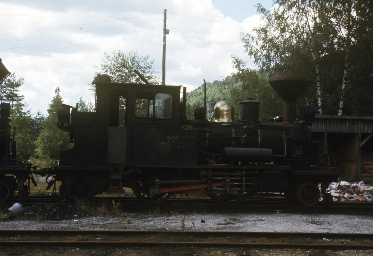 Setesdalsbanens damplok nr 6