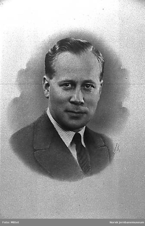 Portrett av driftssjef Karsten Dahlum