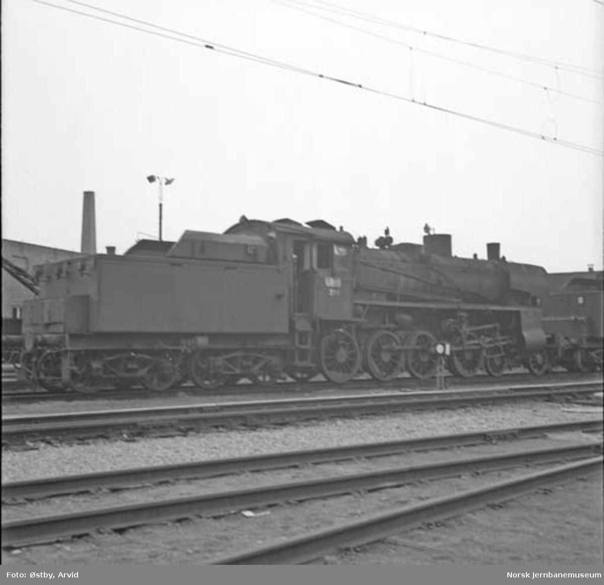 Damplokomotiv type 26c nr. 399