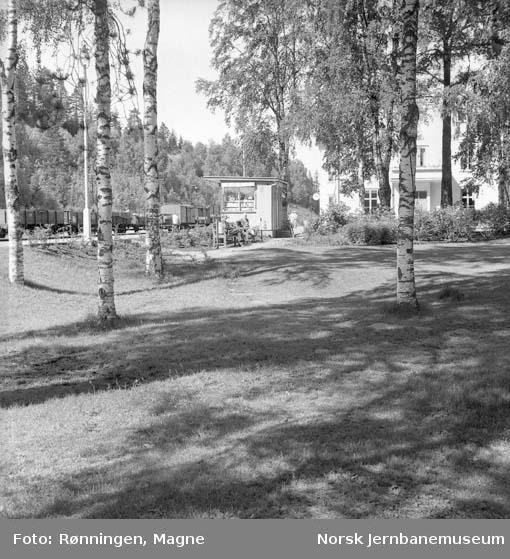 Hageanlegget på Rena stasjon