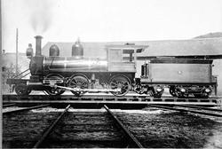 Damplokomotiv type XX nr. 5