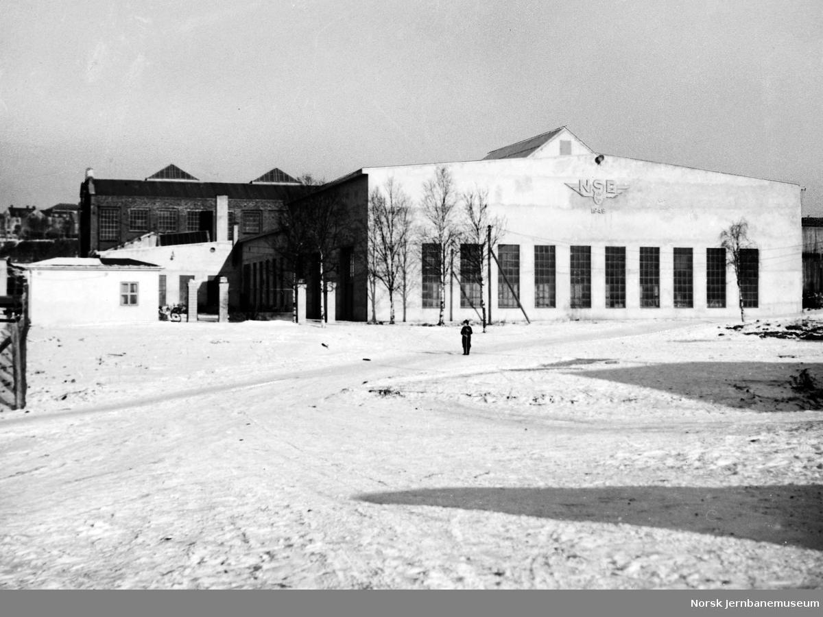 NSB Verkstedet Narvik : bygningene