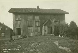 Veng, Enebakk, Nedre Romerike, Akershus. Grått gammelt vånin