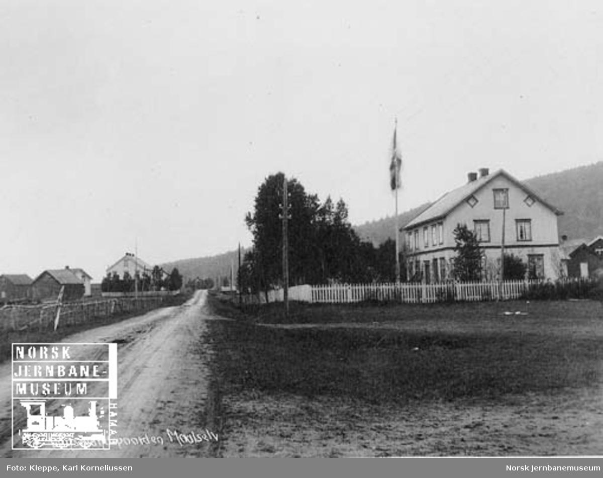 Befaring av Tromsbanen : lensmannsgården i Målselv